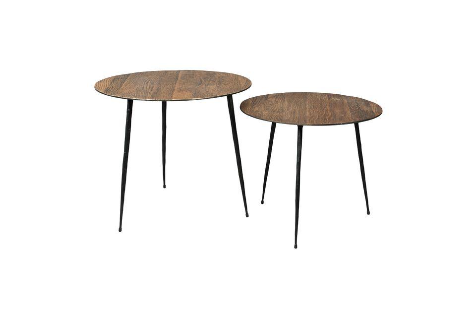 Peper Tavolino marrone 40 cm - 7