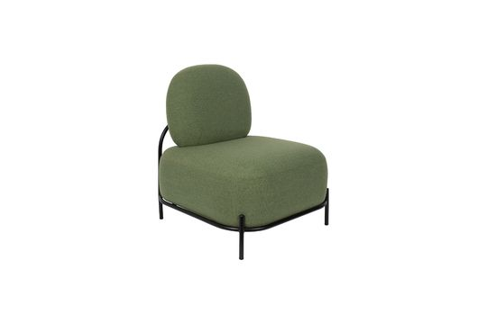 Polly green lounge chair Foto ritagliata