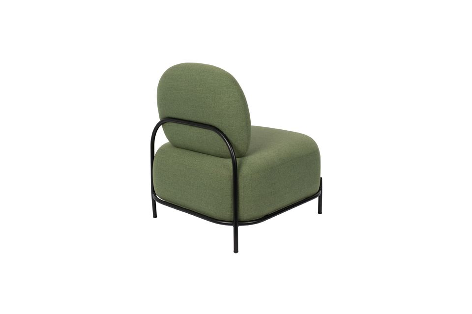 Polly green lounge chair - 7