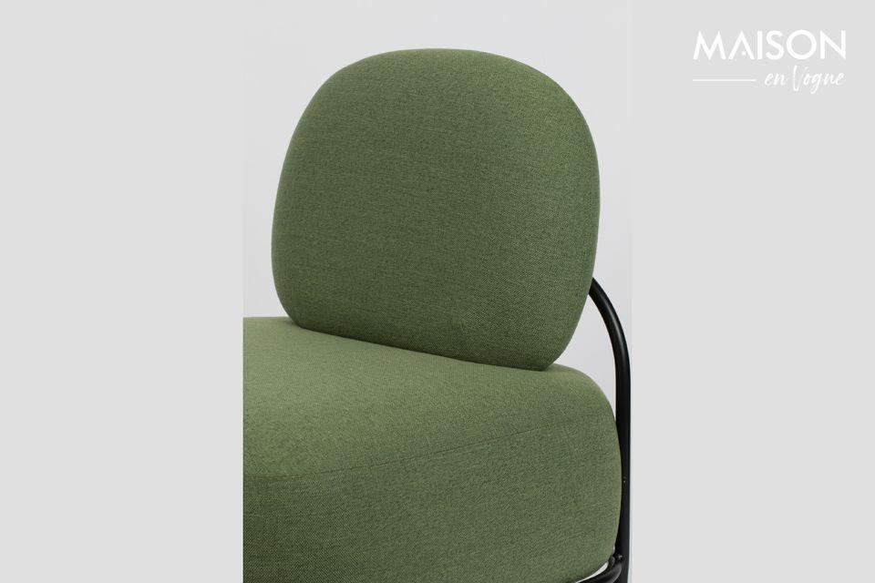 Una sedia di design e confortevole