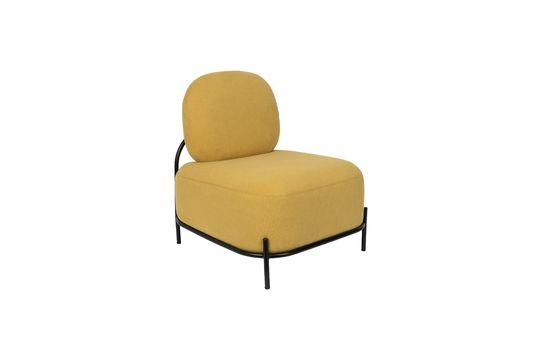 Polly poltrona lounge gialla