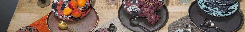 Materiali prima di tutto Porcelino Experience piatto da cena
