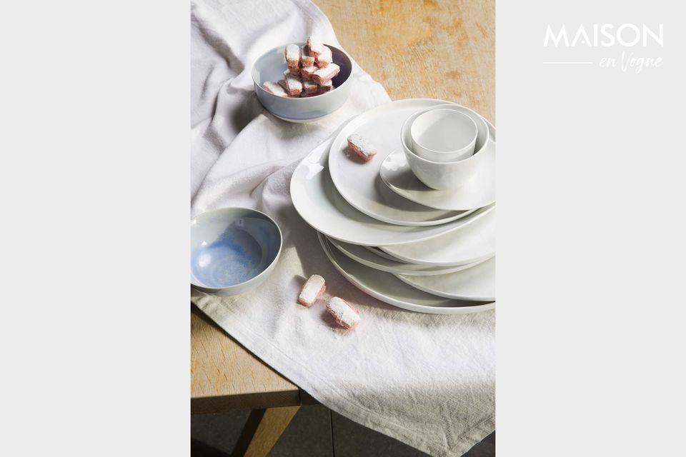 Una collezione di piatti da dessert pratici e senza tempo