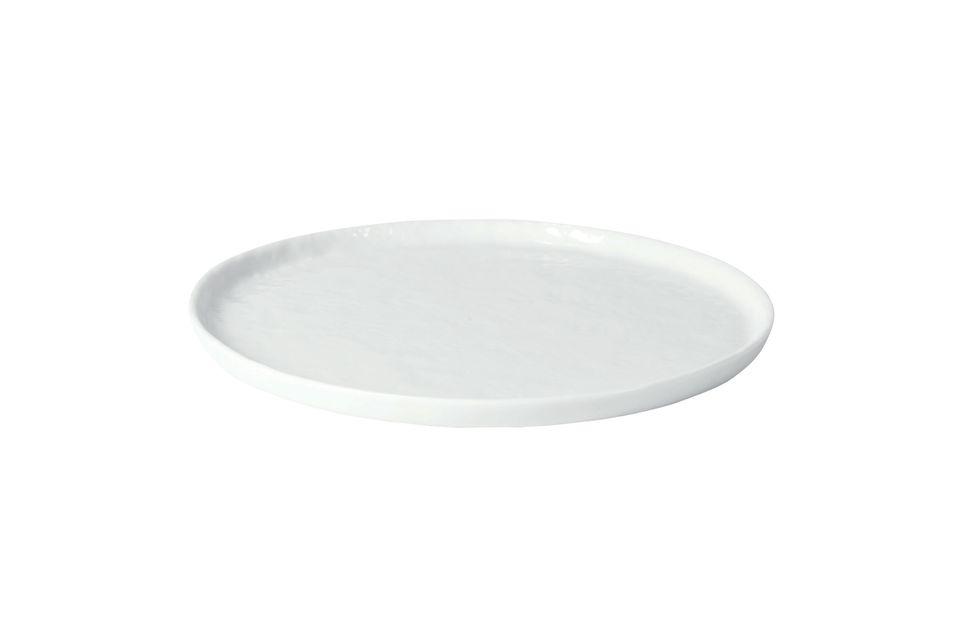 Porcelino piatto da dessert bianco Pomax