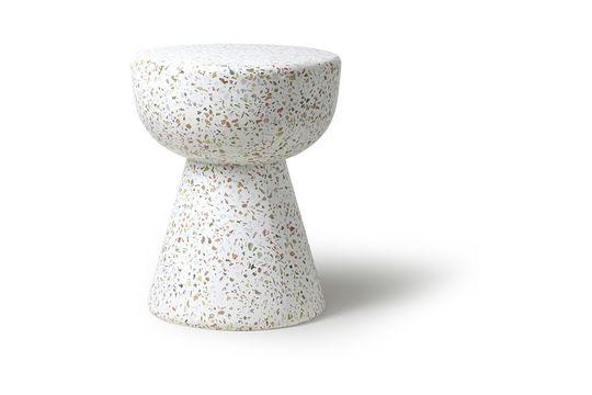 Renno Tavolino da salotto bianco per il terrazzo Foto ritagliata