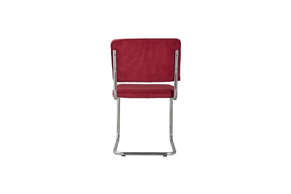 Sedia Ridge Rib Chair Rossa - 6