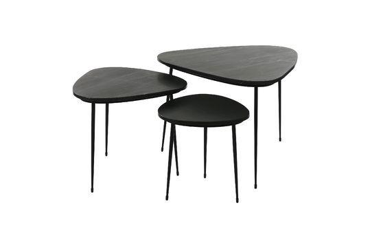 Serie di 3 Axio tavolini in marmo Foto ritagliata
