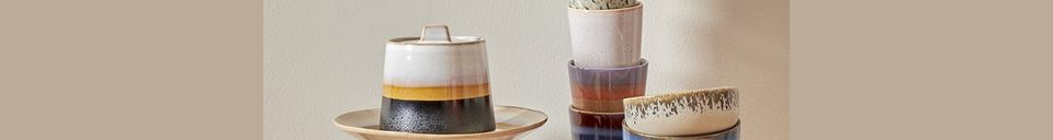 Materiali prima di tutto Serie di 4 ciotole in ceramica anni '70