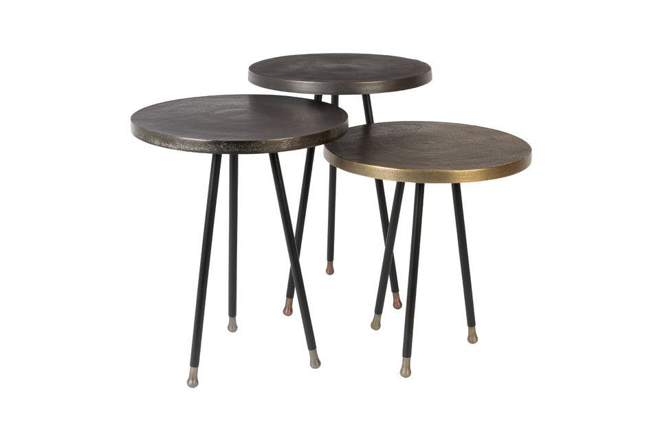 Set di 3 Alim tavolini - 12