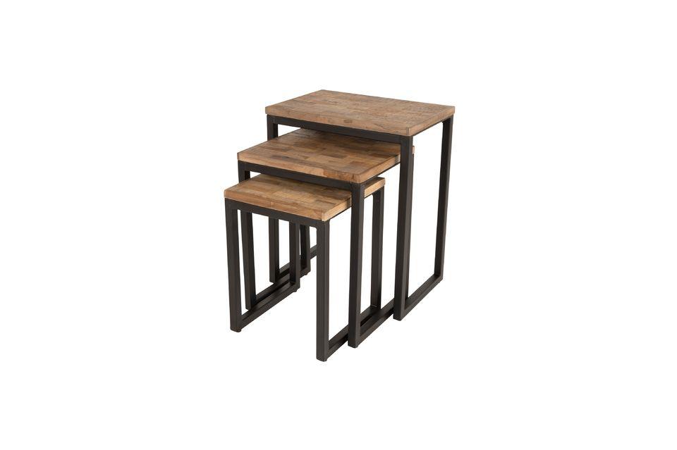 Set di 3 Suri tavolini - 5