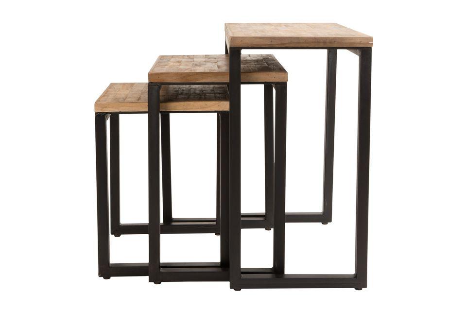Set di 3 Suri tavolini - 6
