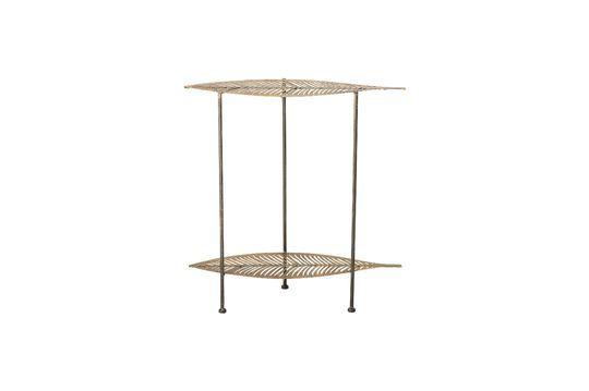 Silja Tavolino in metallo dorato