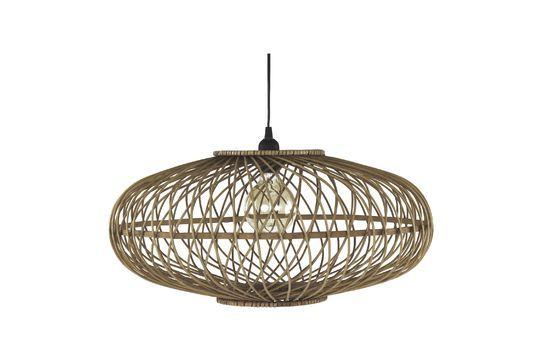 Tao lampada a sospensione in bambù Foto ritagliata