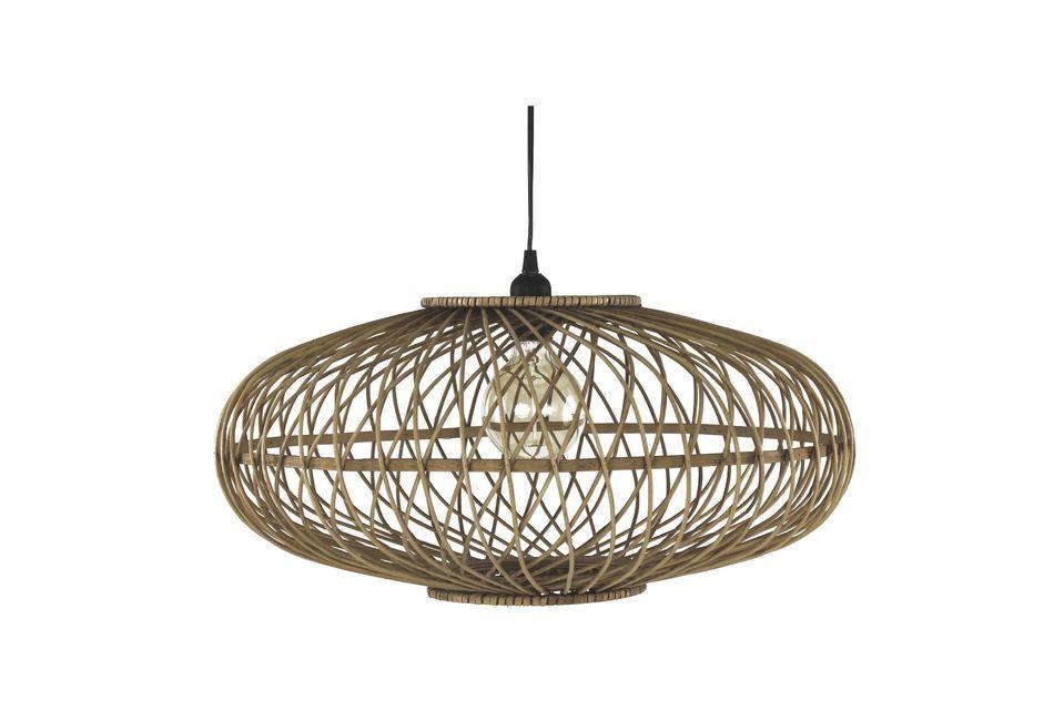 Tao lampada a sospensione in bambù Pomax