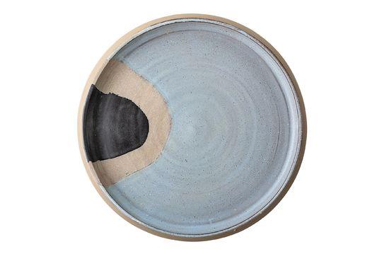 Tauves Vassoio in terracotta blu Foto ritagliata