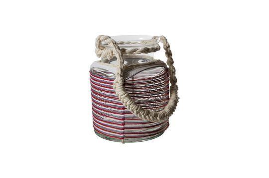 Thieux Lanterna con fili di cotone colorati