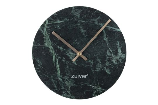 Time Orologio in marmo verde