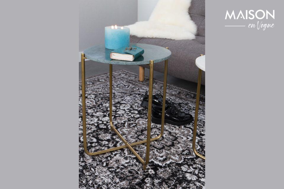 Timpa Tavolino in marmo verde - 6