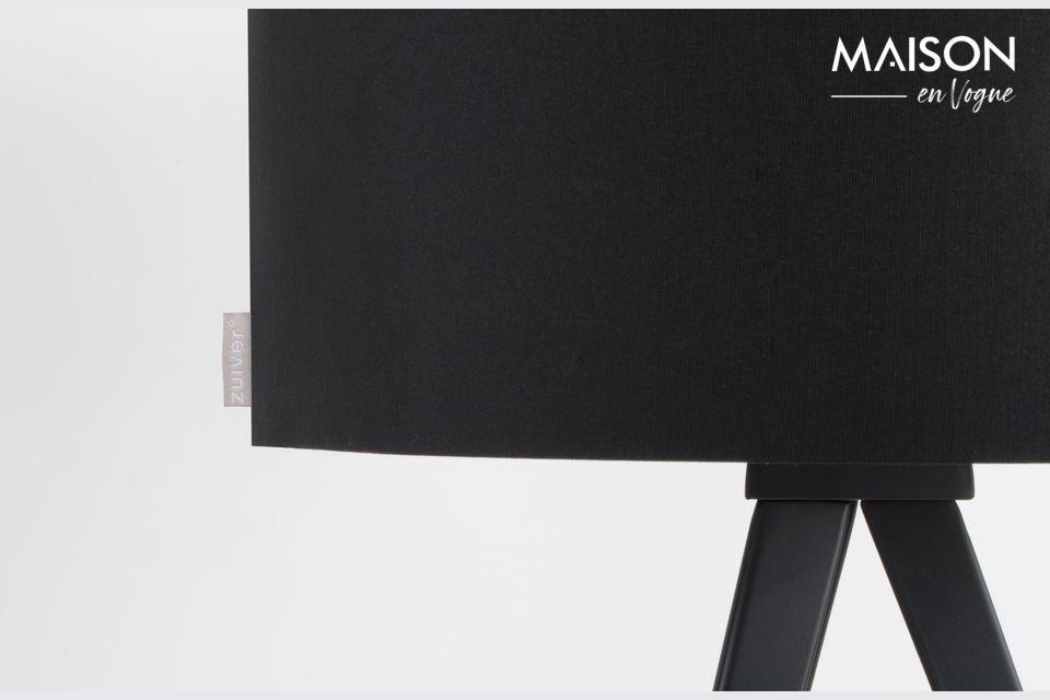 Tripod lampada da tavolo nera - 3