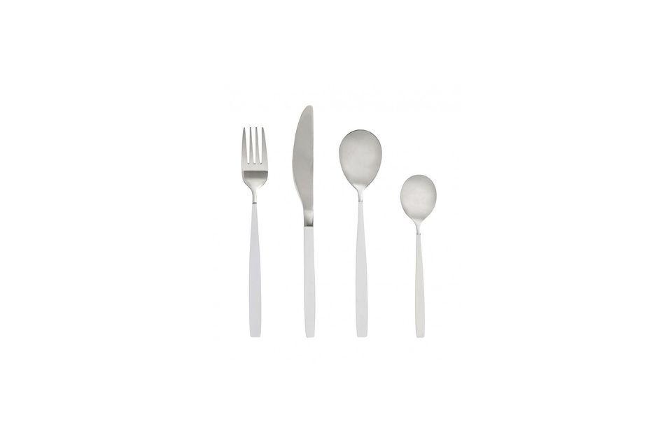 Il design moderno ed elegante di questo set porta uno stile incomparabile alla vostra tavola