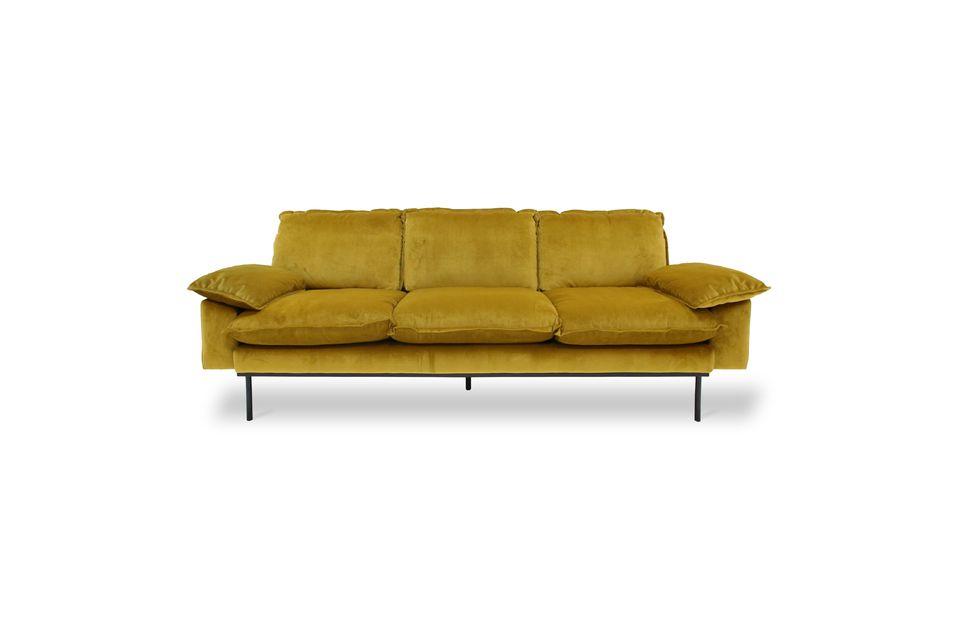 È un divano di alta qualità, progettato per durare nel tempo