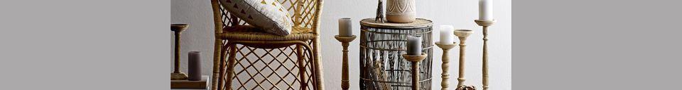 Materiali prima di tutto Vrocourt Tavolino in bambù