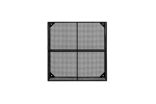 Wire Ripiano metallico nero con 4 scomparti