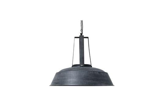 Workshop Lampada XL rustica nera opaca